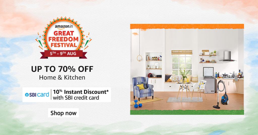 Amazon Great Freedom Festival - Home And Kitchen