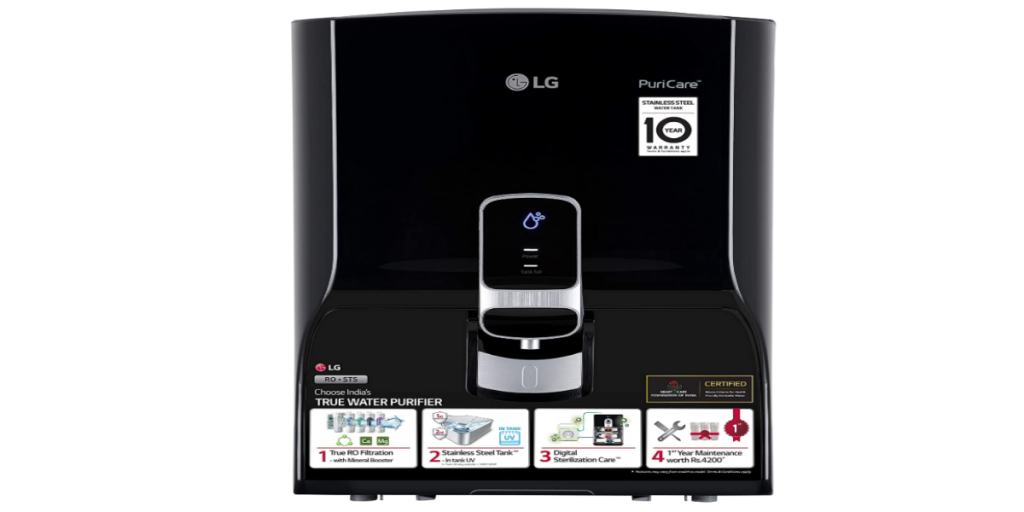 LG Puricare WW140NP RO + Mineral Booster Water Purifier