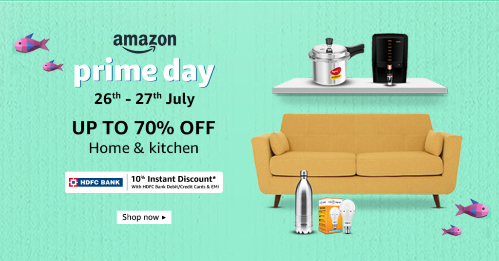 Amazon Prime Day Home And Kitchen Deals