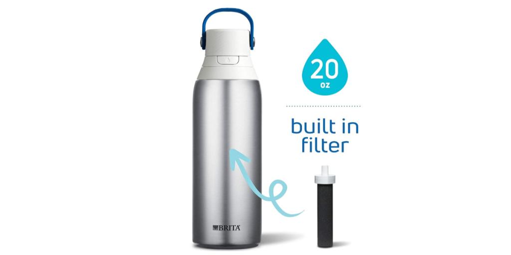 Brita 20 Ounce Premium Filtering Water Bottle