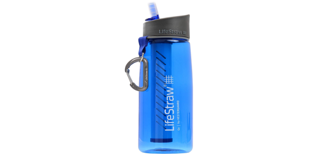 Lifestraw Go Reusable Personal Filter Water Bottle