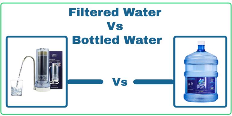 Filtered Water Vs. Bottled Water