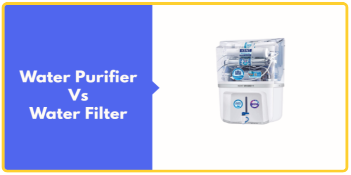 Water Purifier Vs Water Filter