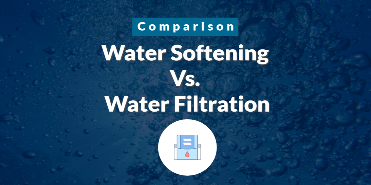 Water Softening Vs Water Filtration