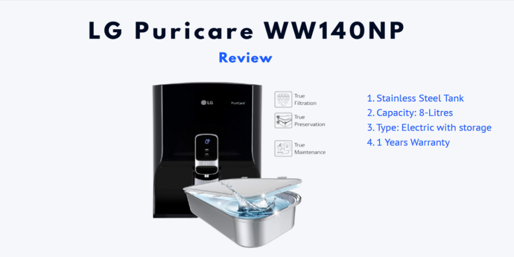 LG Water Purifier Review - Choose From Best 2