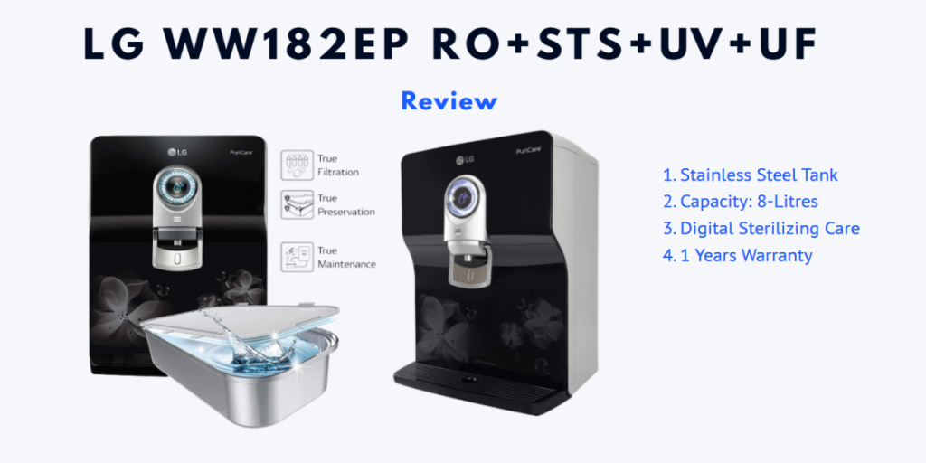 LG Water Purifier Review - Choose From Best 3
