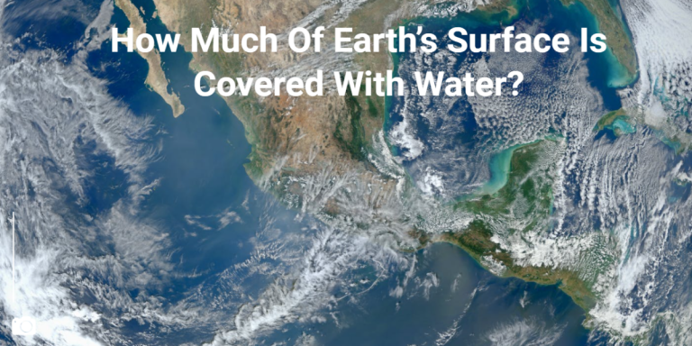 How Much Of Earth's Surface Is Covered With Water?